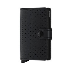 Secrid Miniwallet, Perforated - Black