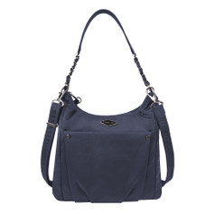 Travelon Anti-Theft Parkview Hobo Crossbody - Navy