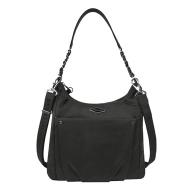 Travelon Anti-Theft Parkview Hobo Crossbody - Black