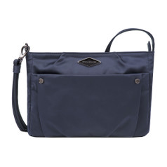 Travelon Anti-Theft Parkview Small Crossbody - Navy