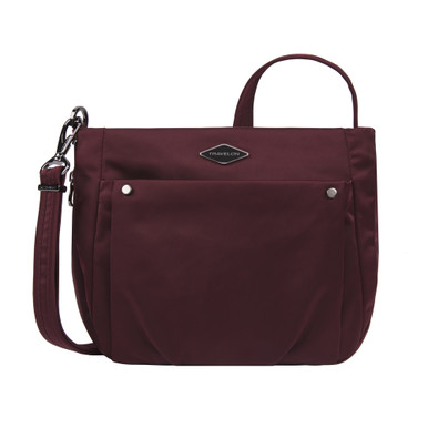 Travelon Anti-Theft Parkview Expansion Crossbody - Wine