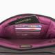 Travelon Anti-Theft Signature Quilted E/W Slim Bag - Smoke