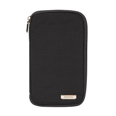 Travelon RFID Blocking Family Passport Wallet - Black