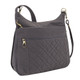 Travelon Anti-Theft Signature Quilted Expansion Crossbody - Smoke