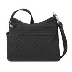 Travelon Anti-Theft Boho Square Crossbody - Black