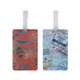 Travelon Set of 2 Luggage Tags - Passport Stamps