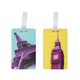 Travelon Set of 2 Luggage Tags - Paris & London