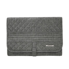 Travelon Boho Trifold Hanging Toiletry Kit - Gray Heather