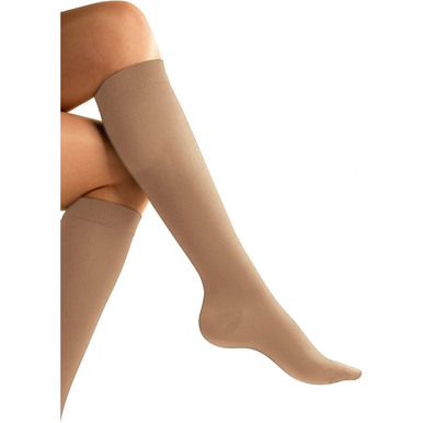Go Travel Flight Compression Socks - Nude