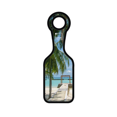 Lewis N Clark Neoprene Luggage Tag, Beach