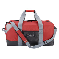 "Lewis N Clark 30"" Heavy Duty Duffel w/ Neoprene Gear Bag - Red"