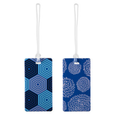 Lewis N Clark Luggage Tag Set, Hex/Blossom