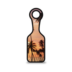 Lewis N Clark Neoprene Luggage Tag, Palm Tree