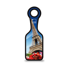 Lewis N Clark Neoprene Luggage Tag, Eiffel Tower