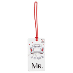 Lewis N Clark Luggage Tag, Mr.