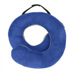 Travelon Deluxe Wrap-N-Rest Travel Pillow - Cobalt