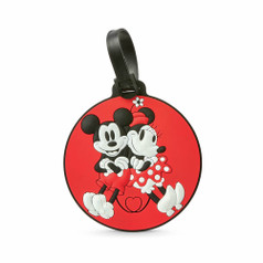 American Tourister Disney ID Tag - Mickey/Minnie Kiss