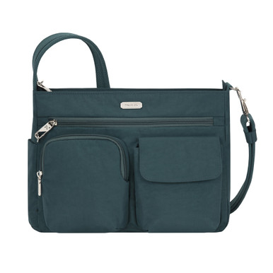 Travelon Anti-Theft Essentials Patch Pocket Crossbody - Peacock