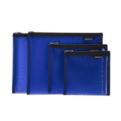 Travelon Set of 4 Mesh Pouches - Blue