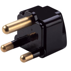 Grounded Adaptor to South Africa