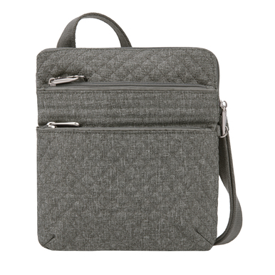 Travelon Anti-Theft Boho Slim Bag - Gray Heather