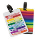 Travelon Set of 2 Luggage Tags - Hot Spots