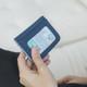 Travelon RFID Blocking Bifold Card Case - Ocean