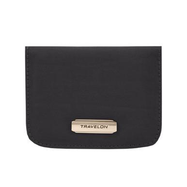 Travelon RFID Blocking Bifold Card Case - Black