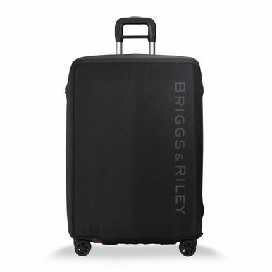 Front view Luggage Cover - Large, Black