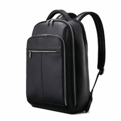 "Samsonite Classic Leather Backpack (15.6"") - Black"