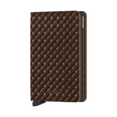 Secrid Slimwallet, Basket - Brown