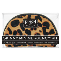 Pinch Provisions Skinny Mini Emergency Kit - Tan Leopard