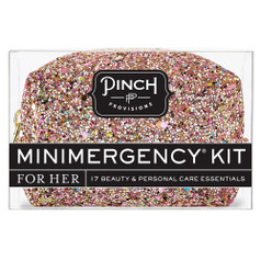 Pinch Provisions Mini Emergency Kit - Glitter Bomb Rose Gold