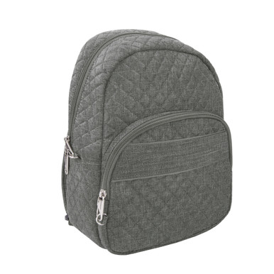 Travelon Anti-Theft Boho Backpack - Gray Heather