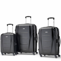 Samsonite Winfield NXT, 3-Piece Set - Brushed Black