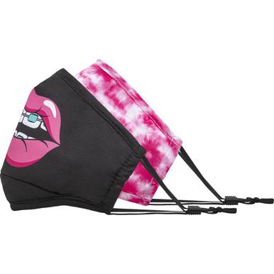 Pink Tie Dye & Brace - Side view