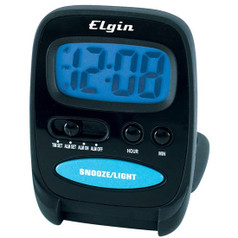 Elgin Digital Travel Alarm Clock