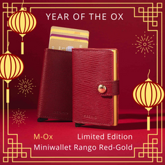 Secrid Miniwallet, Year of the Ox (Limited Edition)