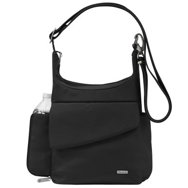 Travelon Anti-Theft Messenger Bag - Black