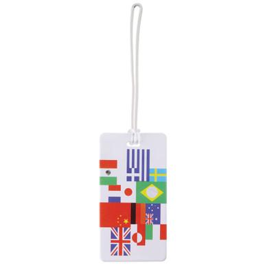 Lewis N Clark Luggage Tag, International Flag
