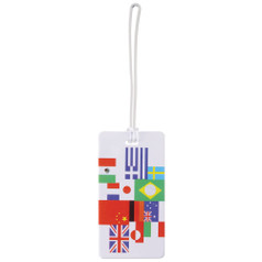 Lewis N Clark Luggage Tag, International Flag