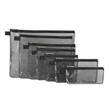 Travelon Set of 7 Packing Envelopes - Black