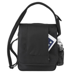 Travelon Anti-Theft Urban N/S Messenger Bag - Black