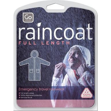 Go Travel Raincoat - Clear