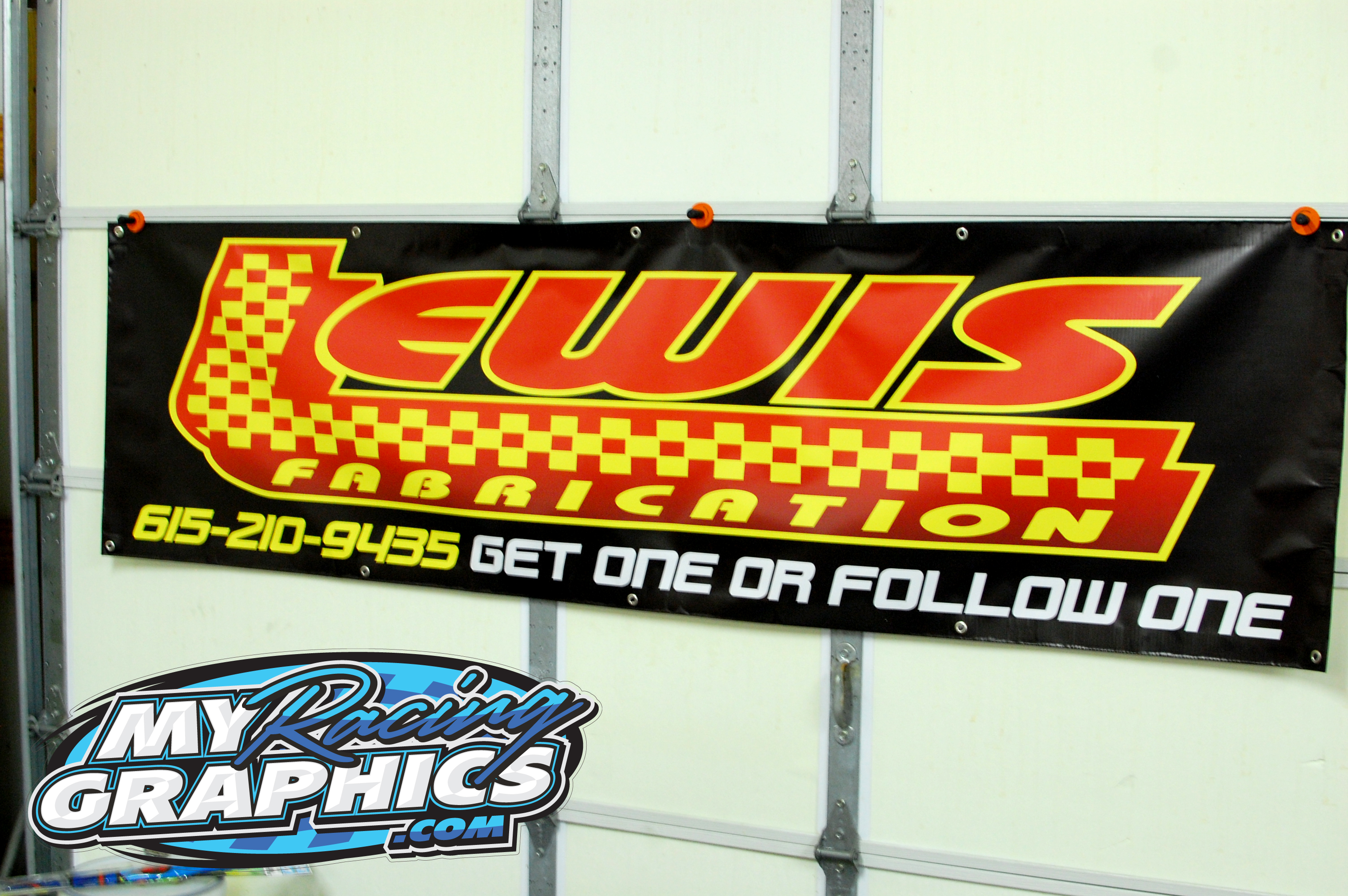 Lewis Fabrication Banner