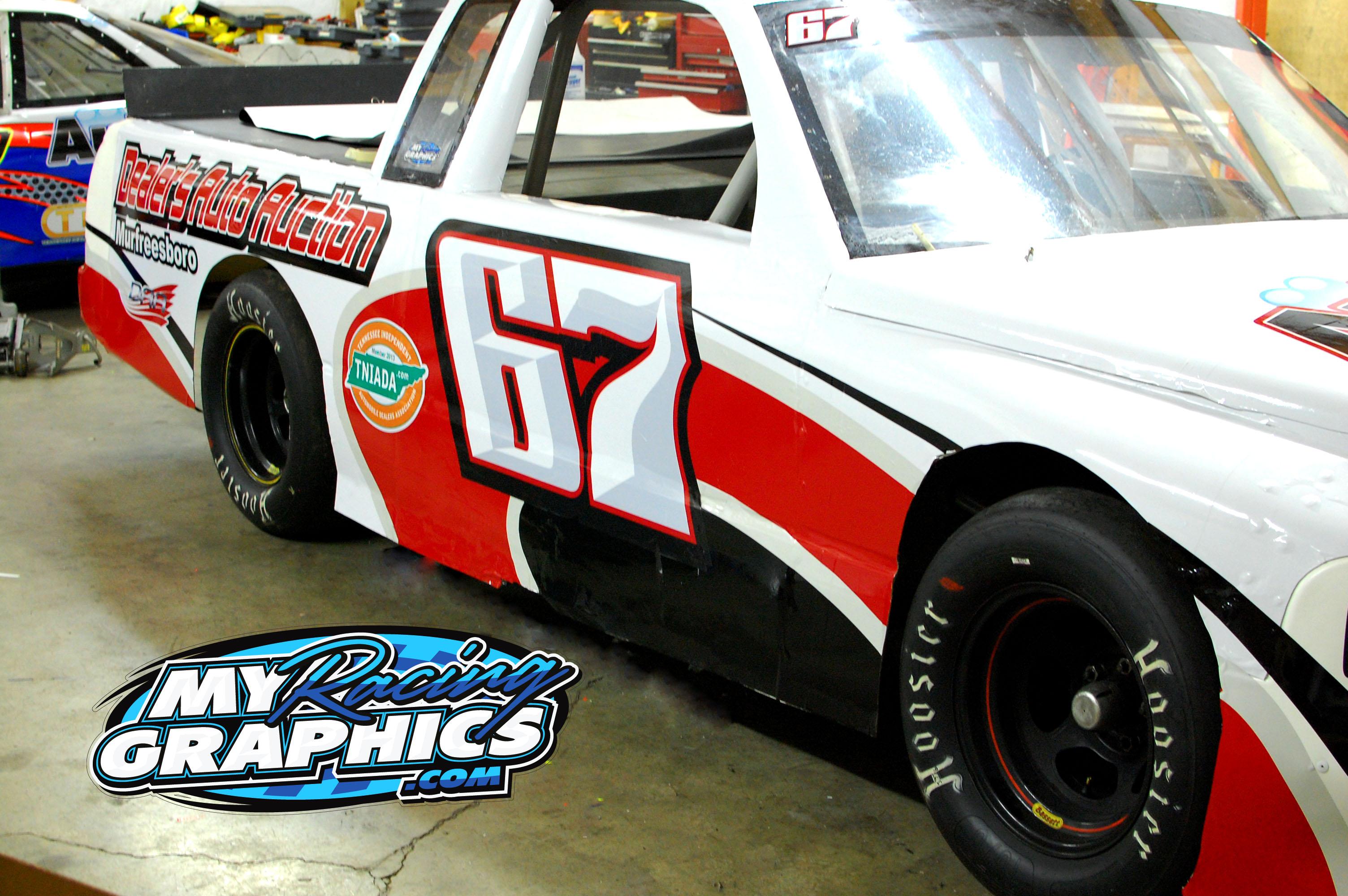 John Earhardt Race Truck Graphics
