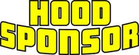 Race Car Graphics Hood Sponsor Vinyl Decal 2 color