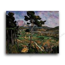 Paul Cezanne   Landscape with Viaduct Mont Sainte Victoire