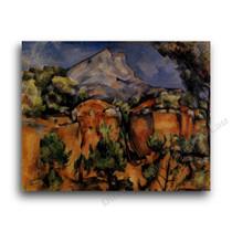 Paul Cezanne   Mont Sainte-Victore Seen from the Bibemus Quarry