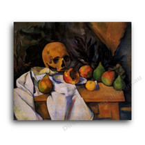 Paul Cezanne   Still Life with Skull